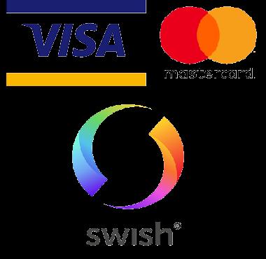 Logo på betalningsalternativ.