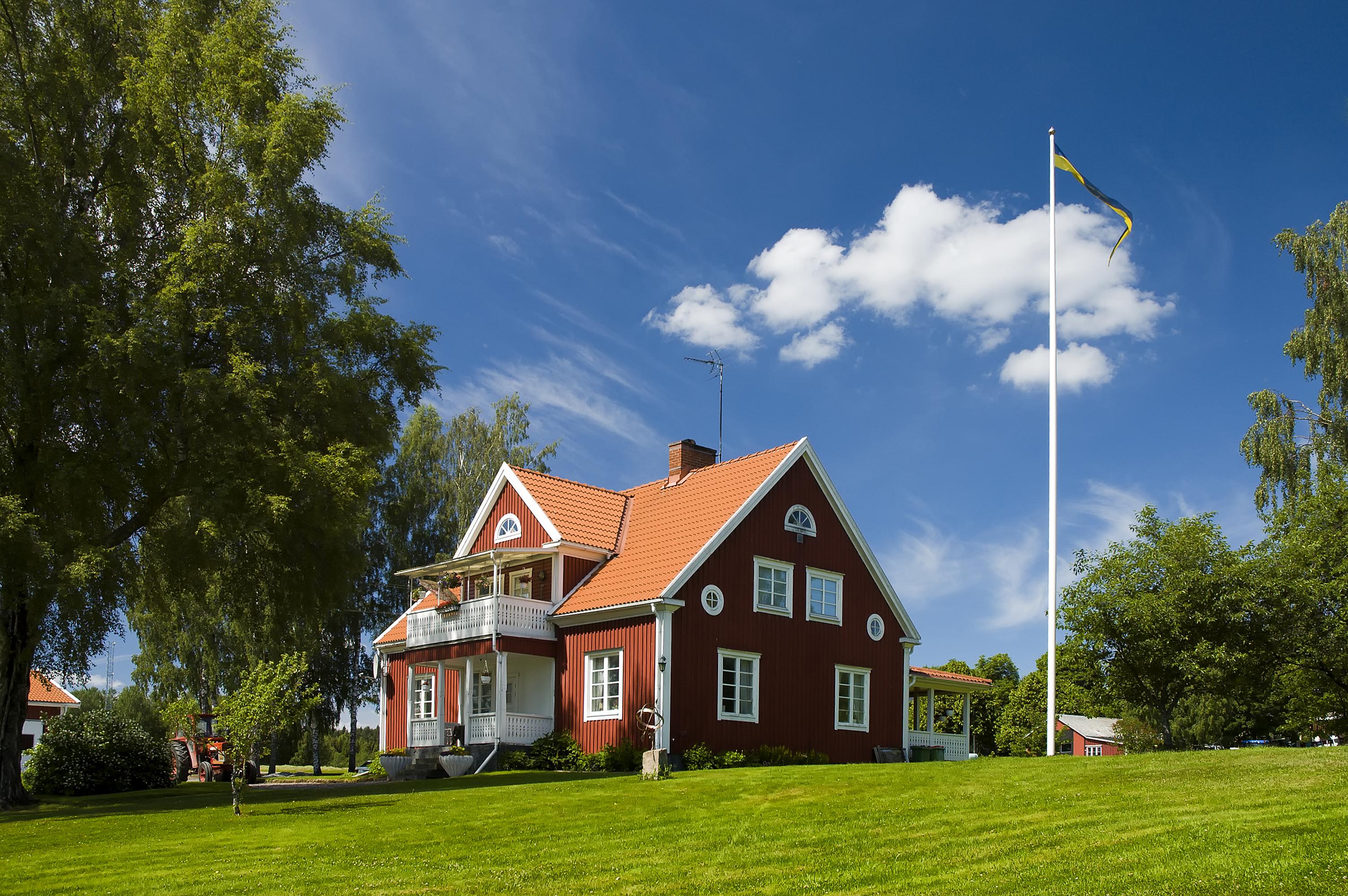 Omtyckta Falu Rödfärg målar Sverige | Visit Dalarna SE-37