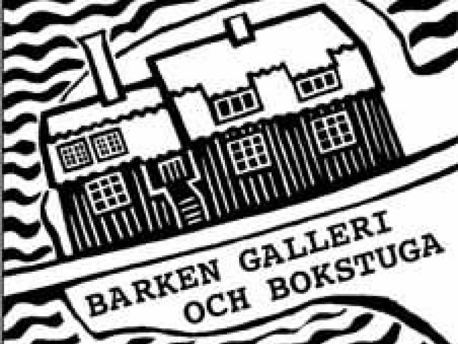 Drawing showing the logo for the Gallery.