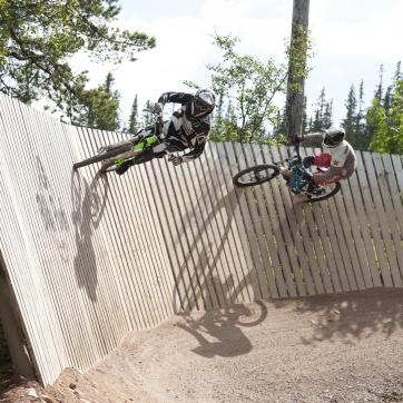 Downhill Lindvallen Biking